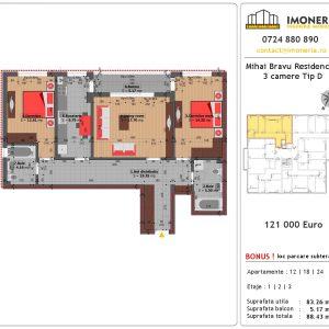 3 Camere Mihai Bravu Residence 8 Tip D Pret Apartament