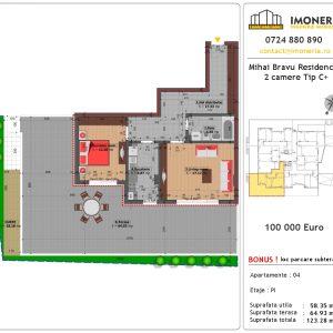 2 camere mihai bravu residence 8