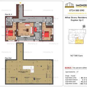 Mihai Bravu Residence 8 Duplex Tip C