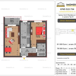 Apartamente-de-vanzare-Splaiul-Unirii-Residence-2-2-camere-tip-D1