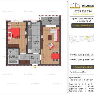 Apartamente-de-vanzare-Splaiul-Unirii-Residence-2-2-camere-tip-E1