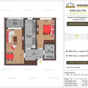 Apartamente-de-vanzare-Splaiul-Unirii-Residence-2-2-camere-tip-F2