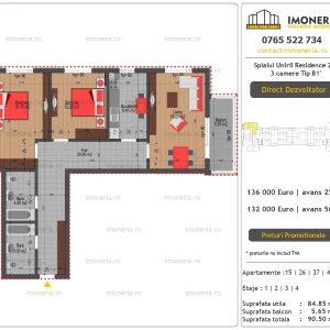Apartamente-de-vanzare-Splaiul-Unirii-Residence-2-3-camere-tip-B2